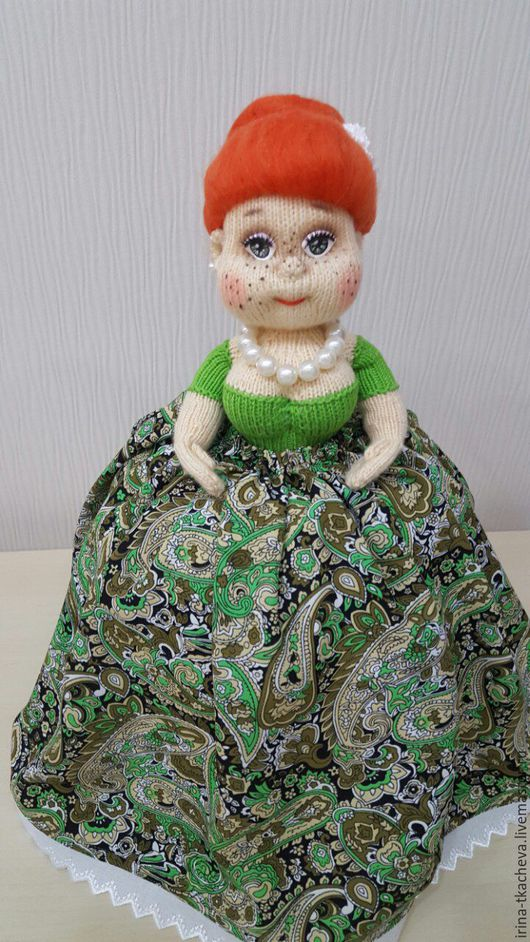 Кухня ручной работы. Ярмарка Мастеров - ручная работа. Купить Кукла грелка на чайник: полезное и стильное украшение интерьера. Handmade.