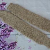 Аксессуары handmade. Livemaster - original item Fashionable leg Warmers-knitted Down stockings. Handmade.