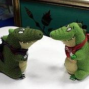 Куклы и игрушки ручной работы. Ярмарка Мастеров - ручная работа Крокодильчики. Handmade.