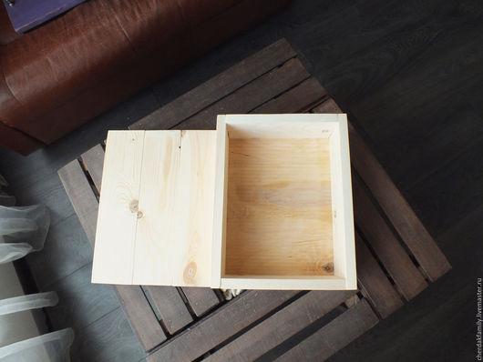 """Упаковка ручной работы. Ярмарка Мастеров - ручная работа. Купить Деревянный ящик с крышкой """"Бесцветный"""". Handmade. Бежевый, ящик деревянный"""
