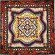 Blanket bedspread patchwork TEREM-TEREMOK, another option