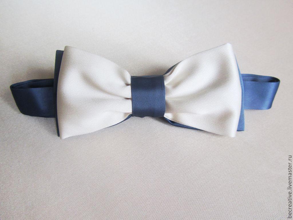 Свадебный галстук бабочка своими руками