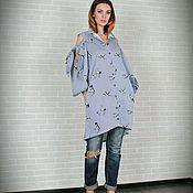 Одежда handmade. Livemaster - original item Universal shirt dress. Handmade.