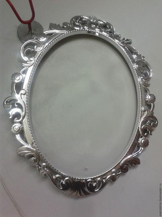 Зеркала ручной работы. Ярмарка Мастеров - ручная работа. Купить Зеркало в серебряной раме № 2. Серия my Princess. Handmade.