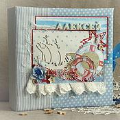 """Работы для детей, ручной работы. Ярмарка Мастеров - ручная работа Мамины сокровища для мальчика  """"Морской мир"""". Handmade."""
