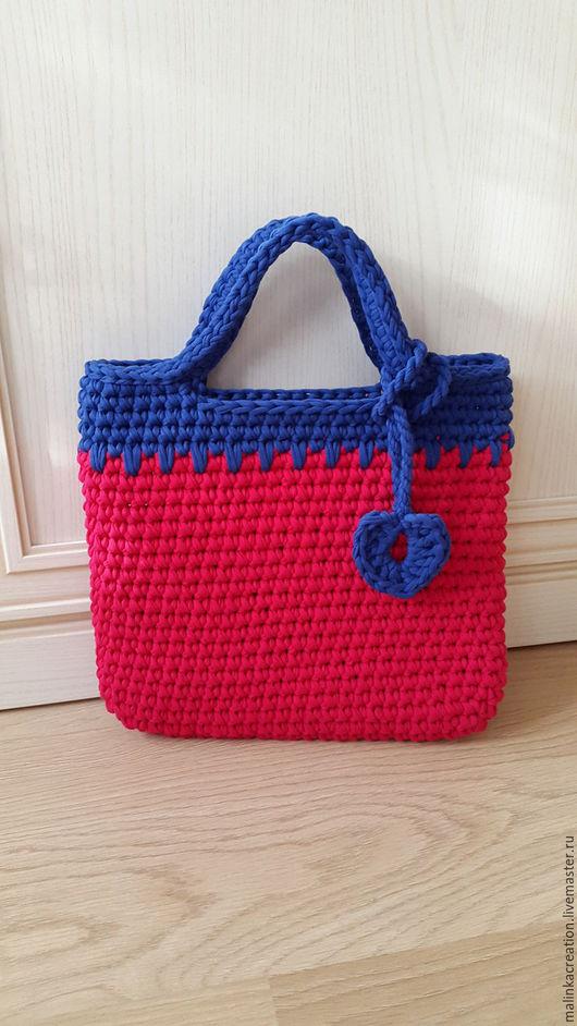 Детская вязаная сумочка Malinka от Malinka_Creation