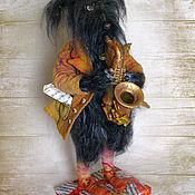 Куклы и игрушки ручной работы. Ярмарка Мастеров - ручная работа Осенний пёс в частной коллекции. Handmade.