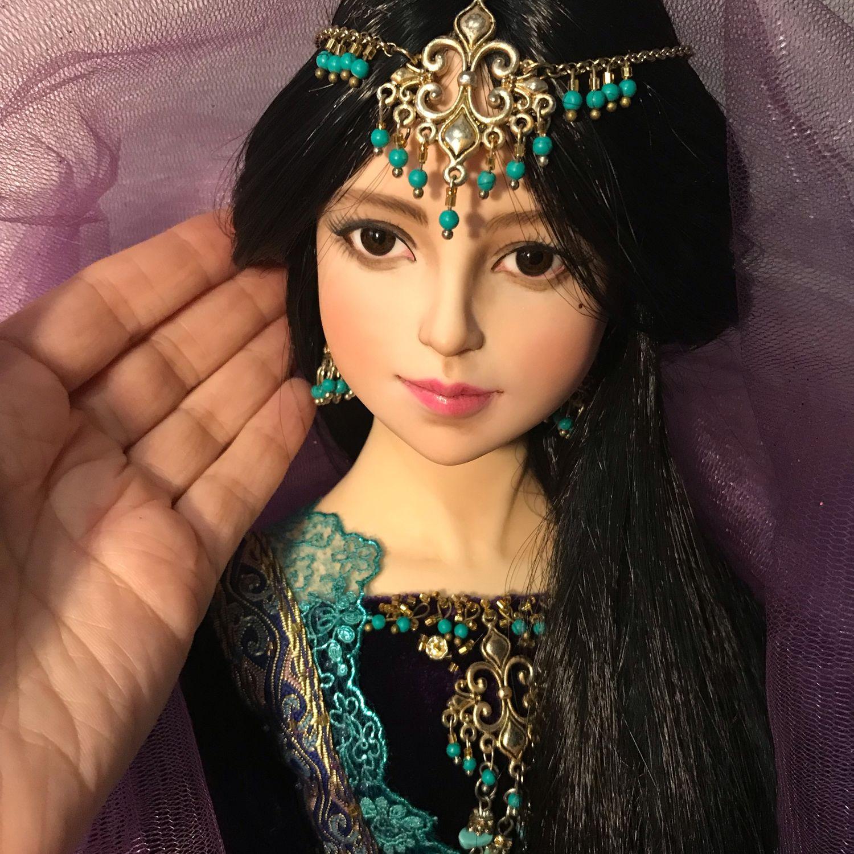 Лейла. Восточная принцесса.. Авторская кукла, Куклы и пупсы, Омск,  Фото №1