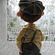 Коллекционные куклы ручной работы. Заказать Колбаска.... Наталья Савинова куклы из шерсти. Ярмарка Мастеров. Мальчик, подарок на любой случай