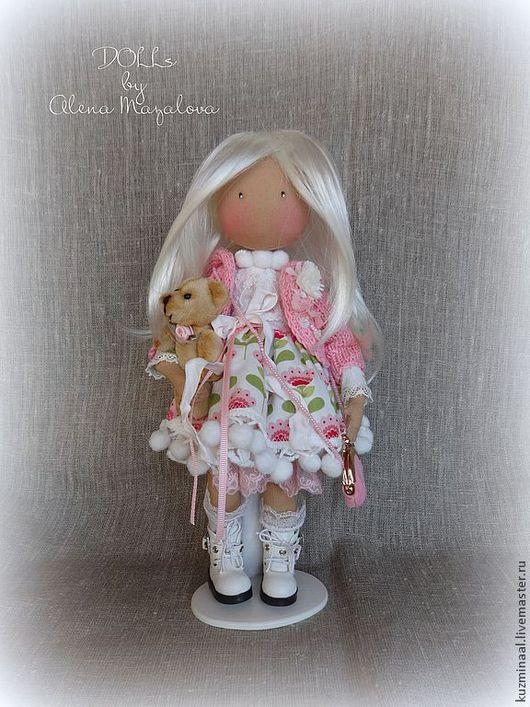 Коллекционные куклы ручной работы. Ярмарка Мастеров - ручная работа. Купить Для Ирины.... Handmade. Куколка, человечки, бисер чешский