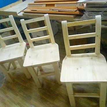 Мебель ручной работы. Ярмарка Мастеров - ручная работа Стул из массива. Handmade.