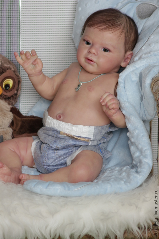 Куклы-младенцы и reborn ручной работы. Ярмарка Мастеров - ручная работа. Купить Коленька -Кукла реборн из молда Ларри от Натали Блик!. Handmade.