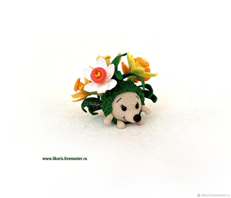 """Нарцисс! Коллекция """"Цветочные Ёжики!"""", Мягкие игрушки, Новосибирск,  Фото №1"""