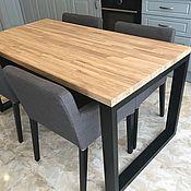 Для дома и интерьера handmade. Livemaster - original item Pine loft dining table. Handmade.