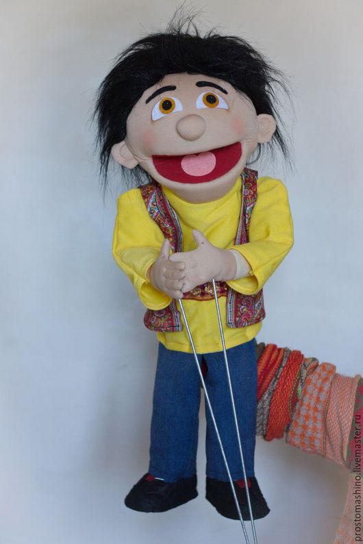 Кукольный театр ручной работы. Ярмарка Мастеров - ручная работа. Купить Парень из Баку. Handmade. Комбинированный, говорящая кукла, холлофайбер