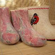 Обувь ручной работы. Ярмарка Мастеров - ручная работа НЕ хотим быть ,,ВаЛЕНКАМИ... Handmade.