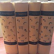 Винтаж ручной работы. Ярмарка Мастеров - ручная работа С. Маршак 4 тома 1958-1960. Handmade.