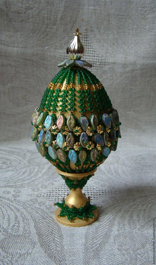 Яйца ручной работы. Ярмарка Мастеров - ручная работа. Купить Яйцо пасхальное 7. Handmade. Пасхальный сувенир, яйцо пасхальное