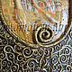 Репродукции ручной работы. Заказать Золотой Климт. Наталия Папантониу. Ярмарка Мастеров. Золотая адель, интерьер, дерево, пластика