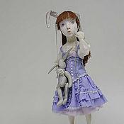 """Куклы и игрушки ручной работы. Ярмарка Мастеров - ручная работа Авторская кукла """"Мой зайчик"""". Handmade."""