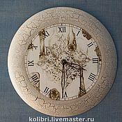 """Для дома и интерьера ручной работы. Ярмарка Мастеров - ручная работа Часы """"Athena"""". Handmade."""
