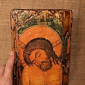 Иконы ручной работы. Ярмарка Мастеров - ручная работа Икона 12 вв. «Христос во гробе». Handmade.