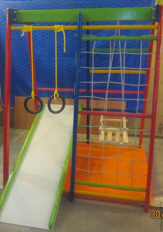 Детская ручной работы. Ярмарка Мастеров - ручная работа. Купить Детский спортивный комплекс. Handmade. Комбинированный, развитие, спортивный комплекс