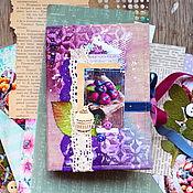 "Канцелярские товары ручной работы. Ярмарка Мастеров - ручная работа Блокнот ""Berries"". Handmade."
