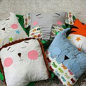 Работы для детей, ручной работы. Ярмарка Мастеров - ручная работа Бортики зверята на кроватку. Handmade.