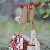 Куклы и игрушки ручной работы. Ярмарка Мастеров - ручная работа Влюбленные Рафаэль и Роза. Handmade.