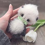 Куклы и игрушки ручной работы. Ярмарка Мастеров - ручная работа маленький панда. Handmade.