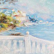 Картины и панно handmade. Livemaster - original item Landscape oil painting