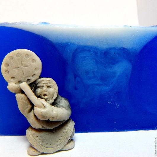 Мыло ручной работы. Ярмарка Мастеров - ручная работа. Купить Мыло морское Берингово море, с экстрактом Enteromorpha compressa. Handmade.