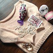"""Одежда ручной работы. Ярмарка Мастеров - ручная работа """" Marie-Antoinette """" дизайнерский джемпер. Handmade."""