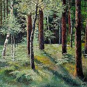 Картины и панно handmade. Livemaster - original item 23 oil Painting Landscape