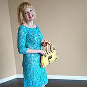 """Одежда ручной работы. Ярмарка Мастеров - ручная работа Платье """"Тиффани"""". Handmade."""