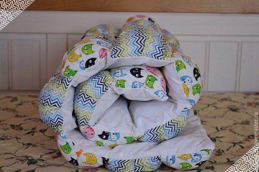 Детские аксессуары ручной работы. Ярмарка Мастеров - ручная работа. Купить Бон-Бон одеяло. Handmade. Бон-бон одеяло