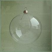 Материалы для творчества ручной работы. Ярмарка Мастеров - ручная работа Шар 100 мм стеклянная заготовка. Handmade.