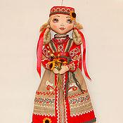 Куклы и игрушки ручной работы. Ярмарка Мастеров - ручная работа авторская кукла Олеся. Handmade.