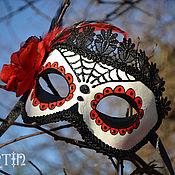 Одежда ручной работы. Ярмарка Мастеров - ручная работа Маска  Dia de los Muertos. Handmade.