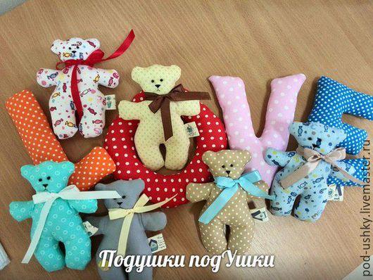 Игрушки животные, ручной работы. Ярмарка Мастеров - ручная работа. Купить Текстильные мишки - игрушки. Handmade. Комбинированный, мягкая игрушка