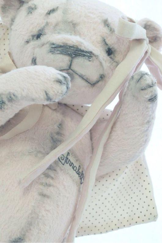 Мишки Тедди ручной работы. Ярмарка Мастеров - ручная работа. Купить мишка тедди Аннабэлль. Handmade. Мишка тедди, вискоза