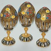 """Сувениры и подарки ручной работы. Ярмарка Мастеров - ручная работа Hand painted egg """"Klimt style"""". Яйцо в стиле Климт.. Handmade."""
