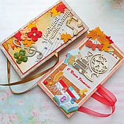 Открытки handmade. Livemaster - original item Postcard-chocolate maker Teacher`s Day. Handmade.