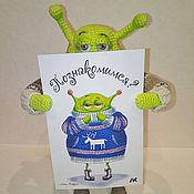 Куклы и игрушки ручной работы. Ярмарка Мастеров - ручная работа Вязаный инопланетянин Аполлоша. Handmade.