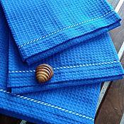 Для дома и интерьера handmade. Livemaster - original item Beach towel Royal blue 77h147. Handmade.