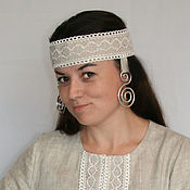Русский стиль handmade. Livemaster - original item Headdress for folk costume. Handmade.
