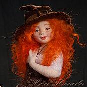Куклы и игрушки ручной работы. Ярмарка Мастеров - ручная работа Злата. Авторская войлочная кукла. Handmade.