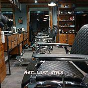 Дизайн и реклама ручной работы. Ярмарка Мастеров - ручная работа Дизайн и отделка  Barbershop в стиле лофт.. Handmade.