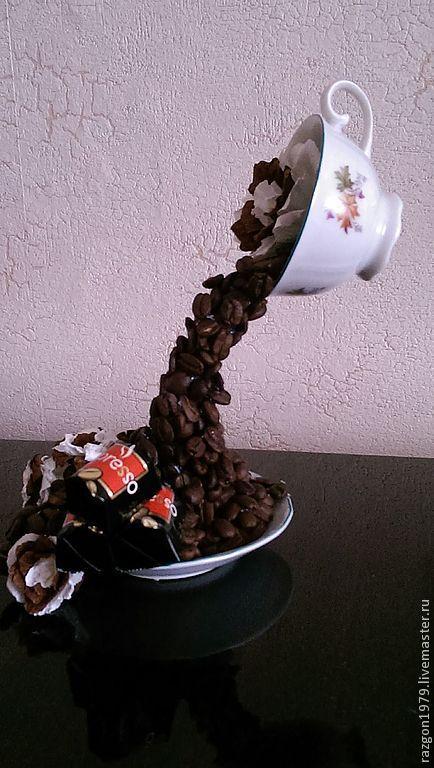 Подарочные наборы ручной работы. Ярмарка Мастеров - ручная работа. Купить Кофейный поток. Handmade. Коричневый, кофе, кофейная пара